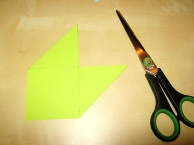Поделка зубастик из бумаги