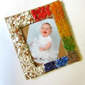 Фото рамка из яичной скорлупы своими руками 63