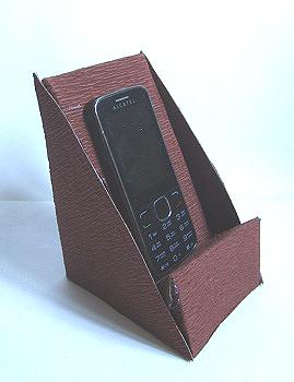 Подставка для телефона своими руками из коробки 32