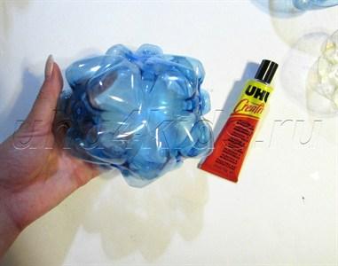Фонарики из бутылок пластиковых своими руками 21